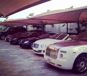 OMG!! See Someone's Garage In Abuja [See Photos]